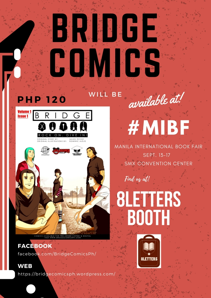 My team's work at #MIBF
